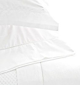 Pine Cone Hill Hemstitch White Pillowcases - standard