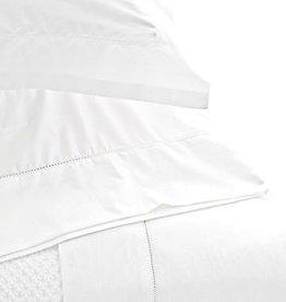 Pine Cone Hill Hemstitch White Sheet Set - Queen