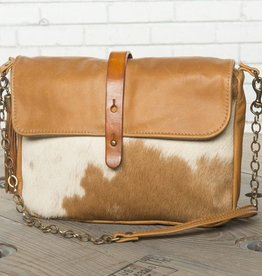 Canoe Golden Cross-Body Clutch