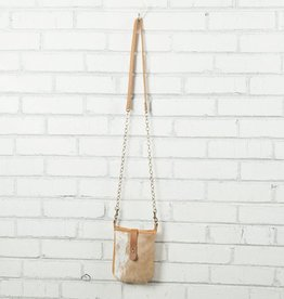 Canoe Mini Cross-Body Golden