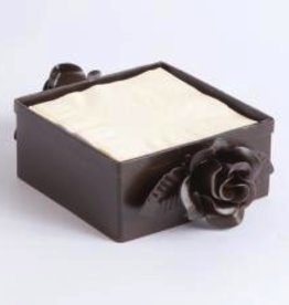 Napa Home and Garden Rose Cocktail Napkin Holder