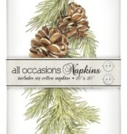Mary Lake Thompson Mary Lake Thompson Pine Branch Casual Napkin Bundle
