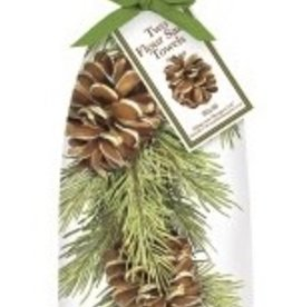 Mary Lake Thompson Pine branch towel set