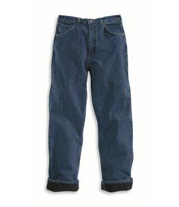 Carhartt B155 Relaxed Fit Jean - Straight Leg/Fleece