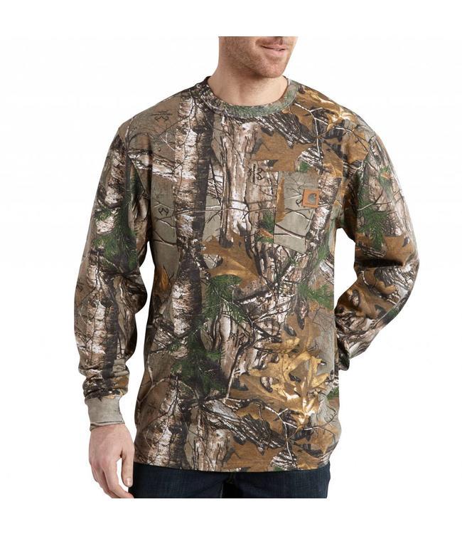 Carhartt Long-Sleeve T-Shirt Realtree XTRA® Camo K285