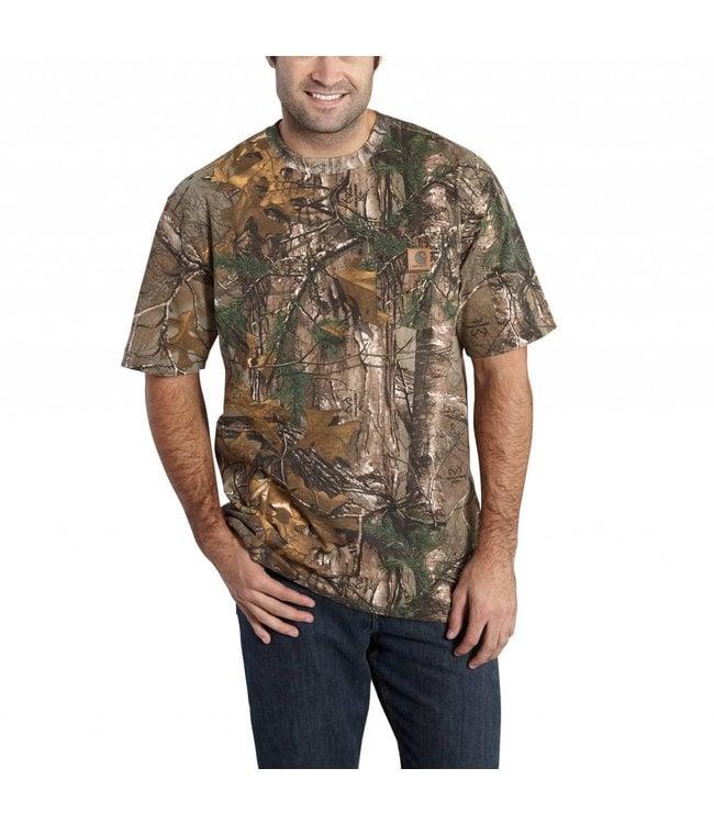 Carhartt Short-Sleeve T-Shirt Camo K287