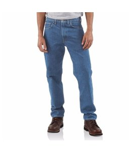 Carhartt B18 Straight/Traditional-Fit Tapered-Leg Jean
