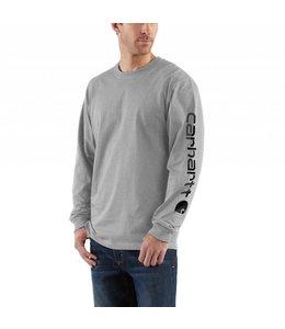 Carhartt K231 Long-Sleeve Graphic Logo T-Shirt