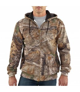 Carhartt K289 Midweight Realtree XTRA® Camo Hooded Zip-Front Sweatshirt