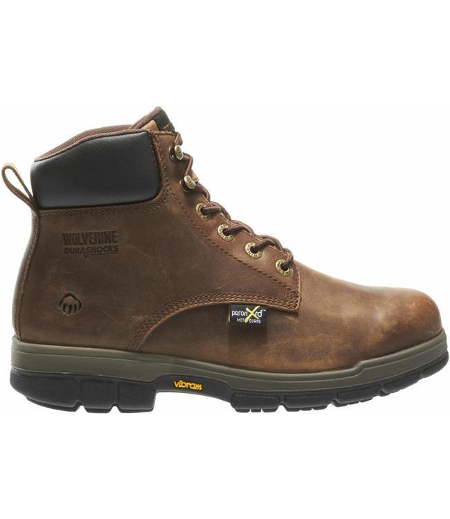 """Wolverine Work Boot Gallatin Durashocks® 6"""" Steel-Toe W10361"""