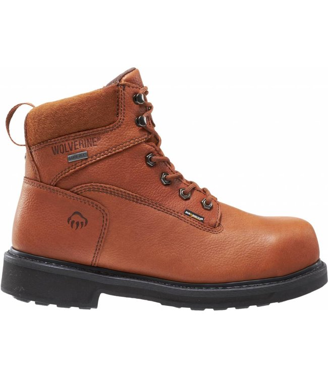 "Wolverine Work Boot Durashocks® Slip Resistant Gore-Tex Waterproof Composite-Toe EH 6"" W02564"