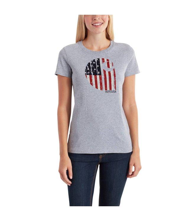 "Carhartt T-Shirt Lubbock Graphic American Branded ""C"" 102605"