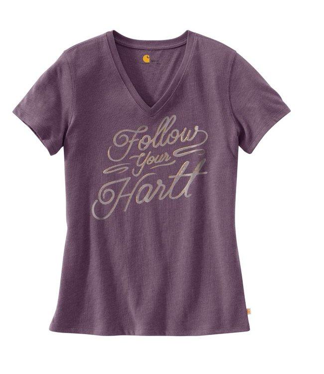 Carhartt T-Shirt Wellton Short-Sleeve V-Neck Graphic 102468