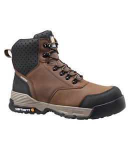 Carhartt Work Boot 6-Inch Brown Waterproof CMA6335