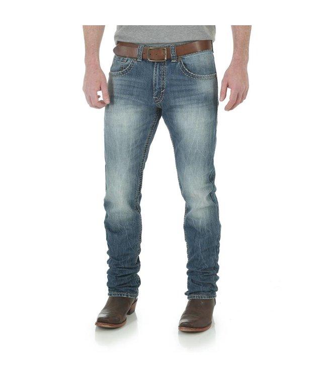 Wrangler Jeans Rock 47® by Wrangler® Slim Fit Straight Leg MRS47JZ
