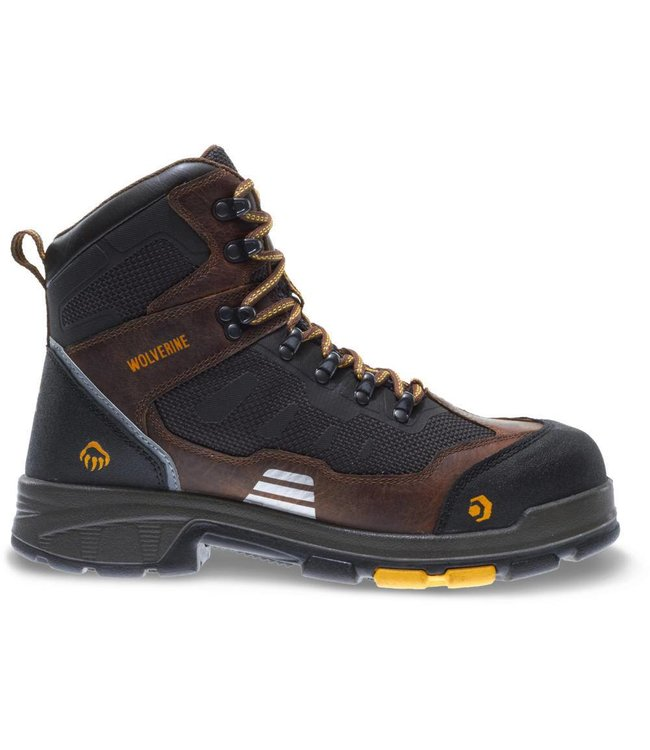 "Wolverine Work Boot Blade FX6"" Brown W10683"