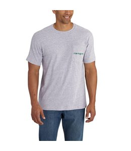 "Carhartt Short-Sleeve T-Shirt Maddock Graphic Shamrock Branded ""C"" 102558"