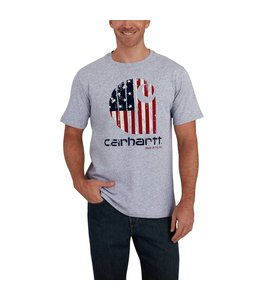 "Carhartt Short-Sleeve T-Shirt Lubbock Graphic American Branded ""C"" 102562"