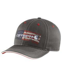 Carhartt 102494 Distressed Flag Graphic Cap