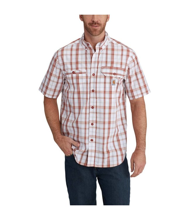 Carhartt Short-Sleeve Shirt Force Ridgefield Plaid 102419