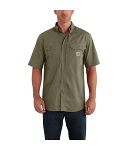 Carhartt Short-Sleeve Shirt Force Ridgefield Solid 102417