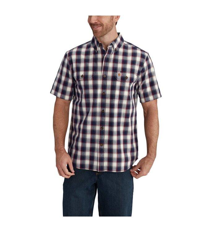 Carhartt Short Sleeve Shirt Fort Plaid 102533
