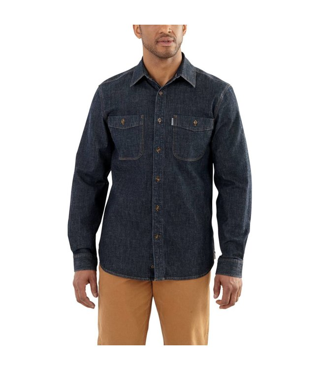 Carhartt Shirt Rugged Flex Patten Denim 102257