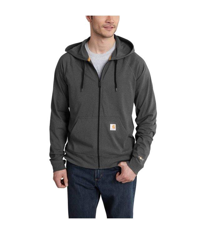 Carhartt Hoodie Force Cotton Delmont Zip Front 101546