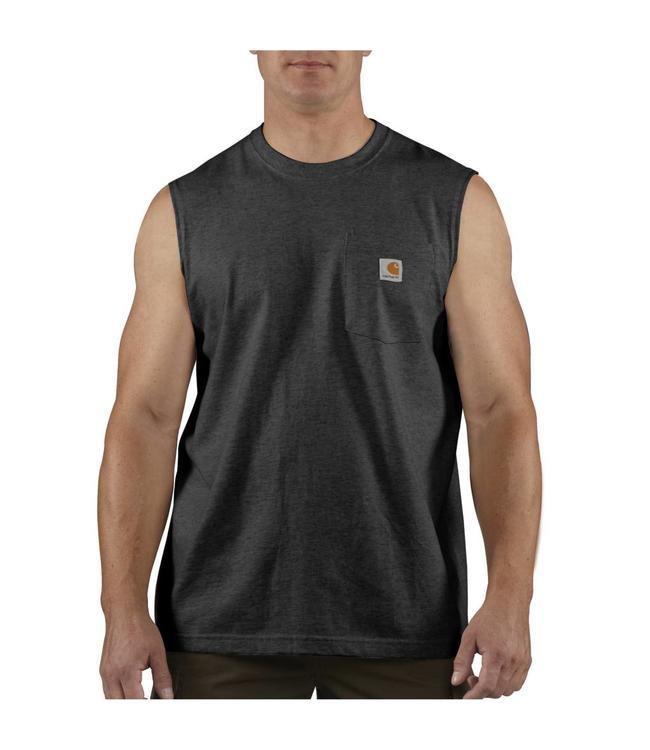 Carhartt Pocket Sleeveless T-Shirt  Workwear 100374