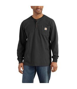 Carhartt Henley Long Sleeve Workwear K128