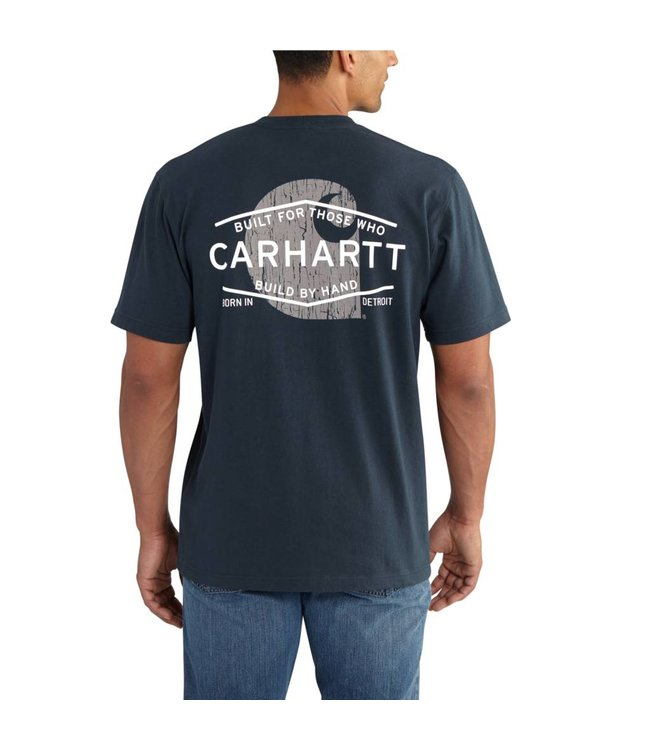Carhartt Short Sleeve Pocket T-Shirt Workwear Graphic Branded C 102551