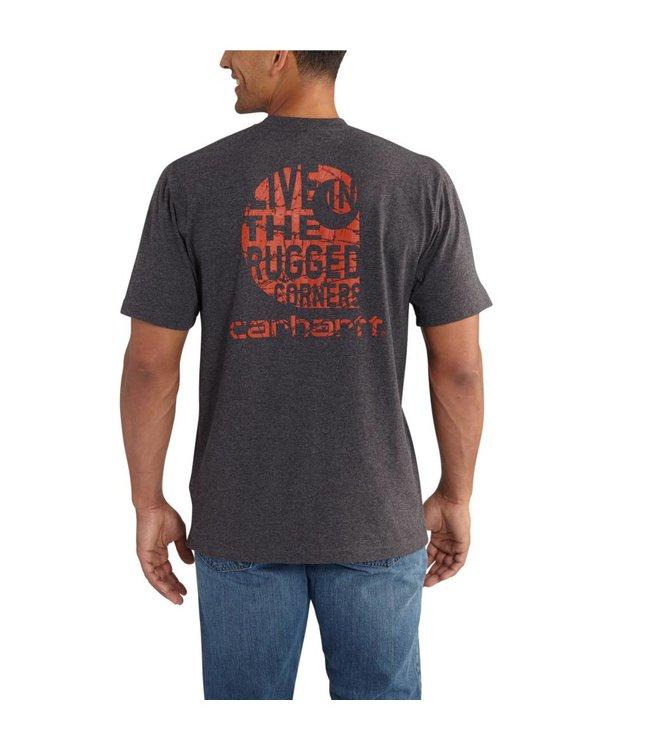 Carhartt Short Sleeve Pocket T-Shirt Workwear Graphic Branded C 102551