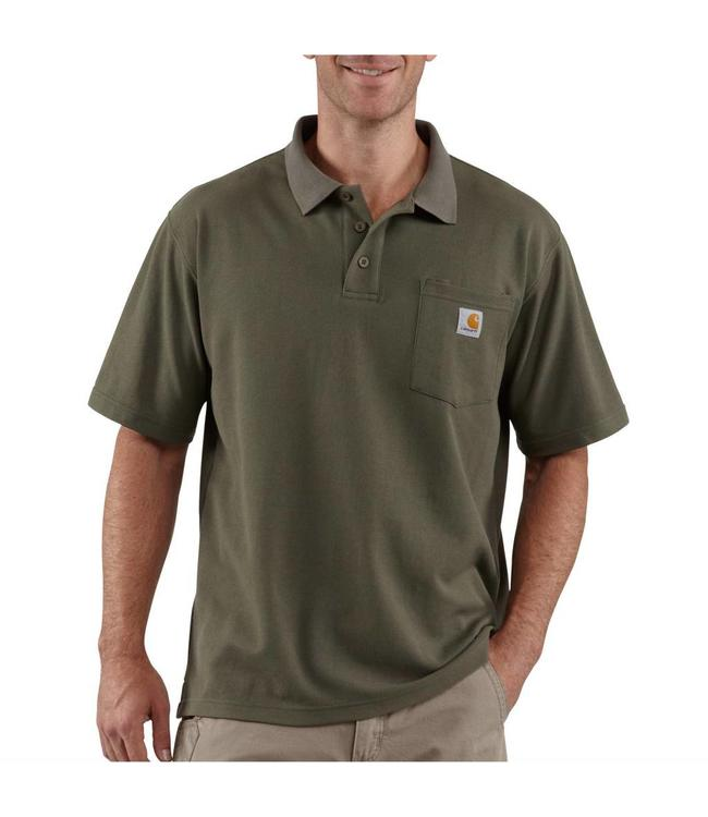 Carhartt Work Pocket Polo Contractor's K570