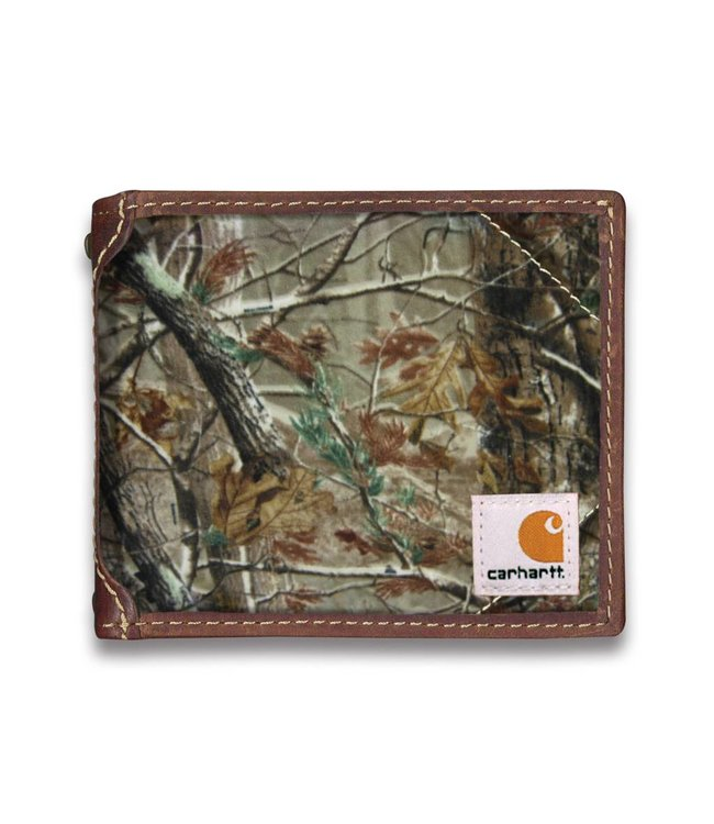 Carhartt Wallet Passcase Realtree with Collectible Tin 61-2216