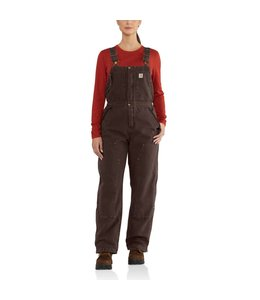 Carhartt Bib Overalls Weathered Duck Wildwood 102743