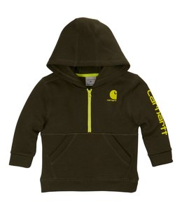 Carhartt Sweatshirt Fleece Half Zip Logo CA88761