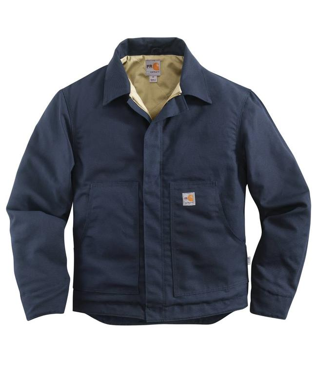Carhartt Jacket Midweight Flame-Resistant Canvas Quilt-Lined Dearborn 101624