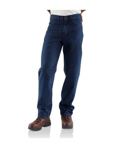 Carhartt Jean Relaxed Fit Signature Denim Flame-Resistant FRB100