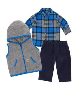Carhartt Gift Set 3 Piece Boys Flannel CG8676