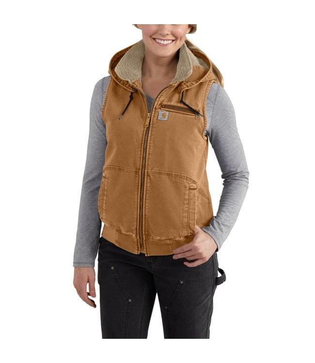 Carhartt Vest Weathered Duck Wildwood 102253