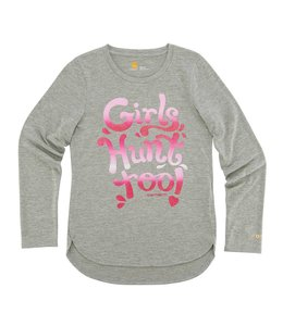Carhartt Tee Force Girls Hunt Too CA9552