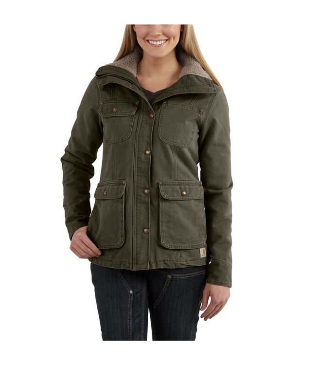 Carhartt Coat Weathered Duck Wesley 102247