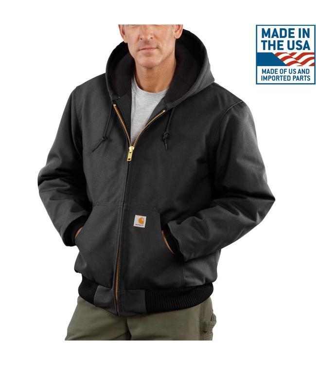 Carhartt Jacket Active Duck Quilt-Flannel-Lined J140