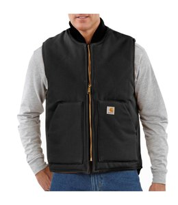 Carhartt Vest Duck Arctic Quilt Lined V01