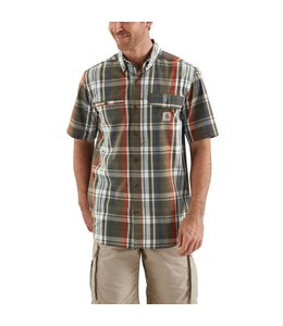 Carhartt Shirt Force Plaid Short-Sleeve Ridgefield 103146
