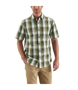 Carhartt Shirt Open Collar Short-Sleeve Essential Plaid 103004