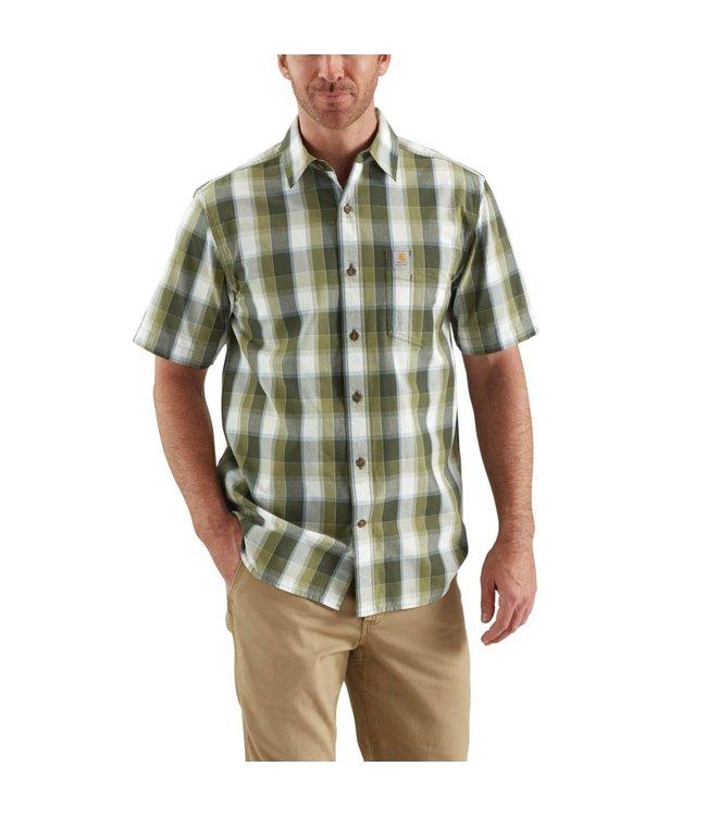 Carhartt Shirt Open Collar Short-Sleeve Essential Plaid 103004