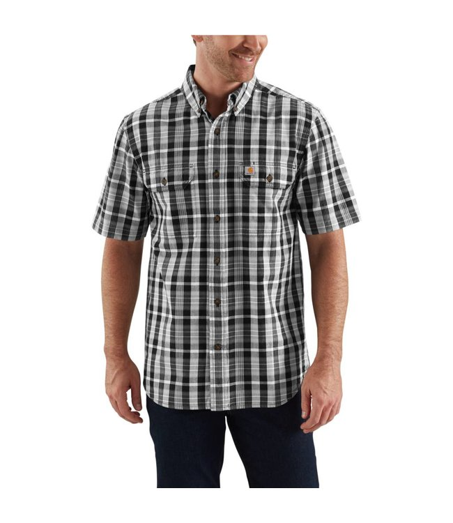 Carhartt Shirt Plaid Short Sleeve Fort 103006