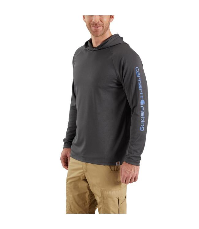Carhartt Hoodie Long Sleeve Fishing Hook Graphic Force 103002