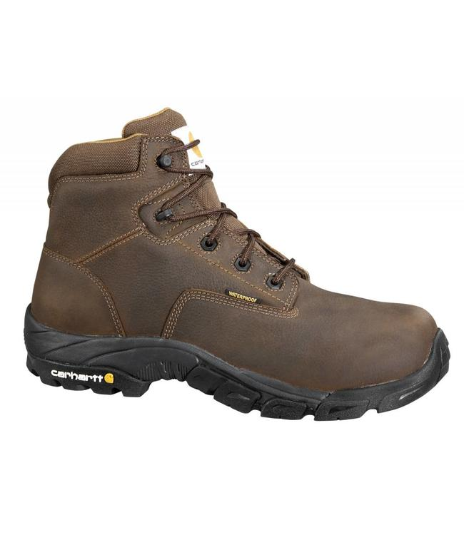 Carhartt Work Hiker Boot 6 Inch Bison Brown CMH6144